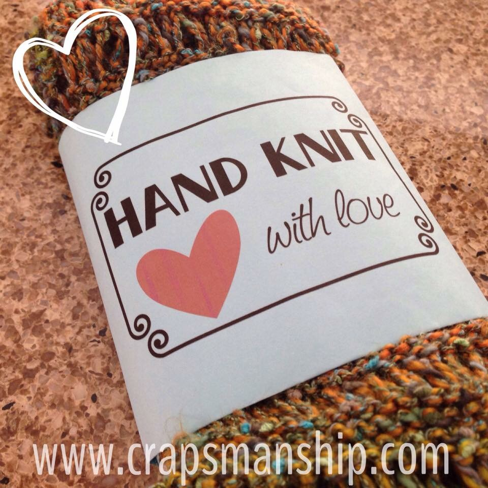 Hand knit with love crapsmanship for Hand knit with love labels